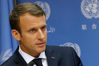 Франция попросит США смягчить антироссийские санкции