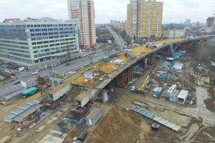 Власти Московской области рассказали о строительстве новой эстакады