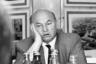 Мэр Москвы Юрий Лужков на приеме в «Инкомбанке».