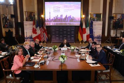 Страны G7 приготовились ввести новые санкции против России