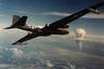 Во время последнего ядерного испытания на атолле Бикини был взорван «Джунипер». Самолет RB-57 Canberra, оснащенный фильтр-гондолами, направляется к ядерному облаку с целью отбора проб для последующего радиохимического анализа. Последнее испытание на атолле Бикини было проведено 22 июля 1958 года, когда была взорвана термоядерная боеголовка XW-47 мощностью 65 килотонн.