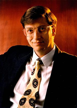 Билл Гейтс станет богатейшим человеком в мире лишь во второй половине 1990-х, а в первый список Forbes 400 в 1982 году он даже не попал.