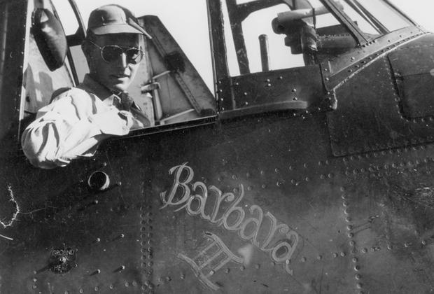 Джордж Буш принял участие в 58 сражениях, за что получил Крест за летные заслуги, три Воздушные медали