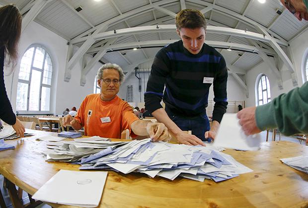 Референдум по вопросу безусловного дохода в Швейцарии
