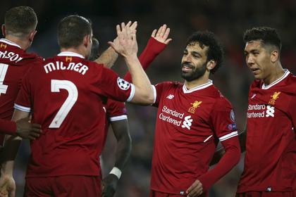 «Ливерпуль» отправил пять мячей в ворота «Ромы» в полуфинале Лиги чемпионов