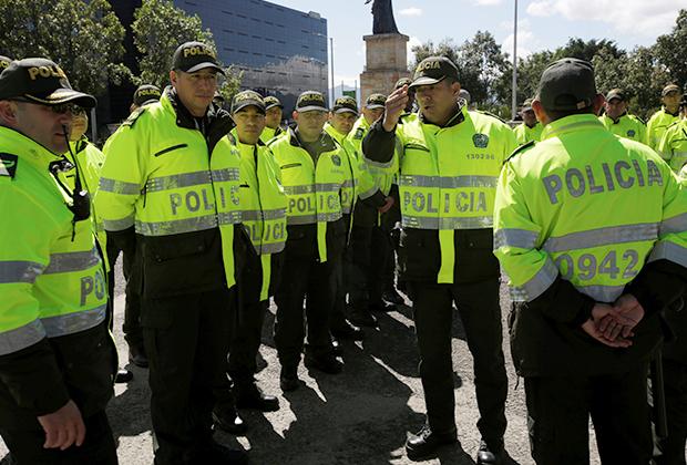 Колумбийские полицейские