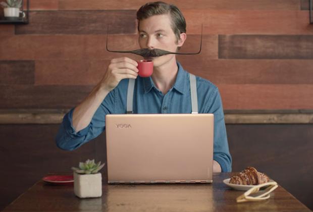 Реклама ноутбука Lenovo YOGA 900