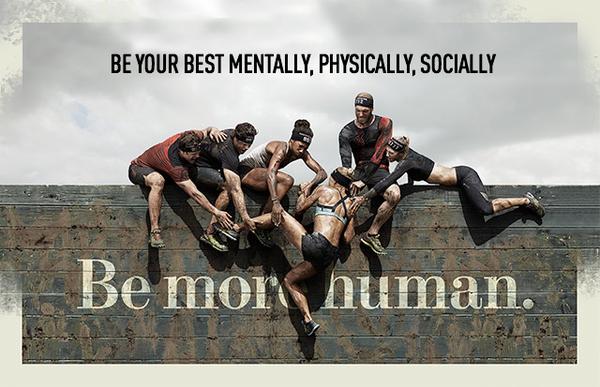 Реклама Reebok «Be More Human»