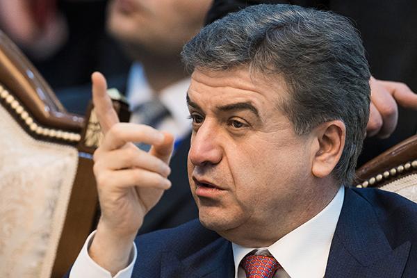 В Армении опровергли слухи об отставке временного премьера