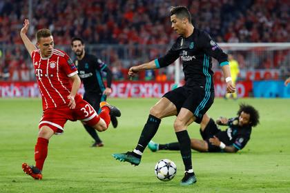 «Реал» оказался сильнее «Баварии» в полуфинале Лиги чемпионов