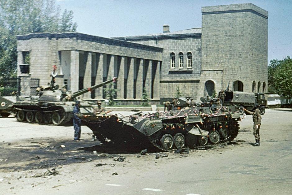 Последствия боев Апрельской революции