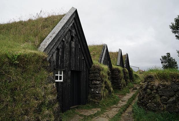 Дома с грунтовой крышей — жилища викингов