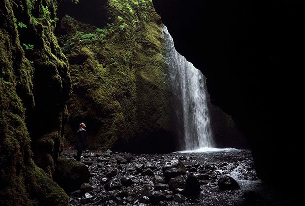 Водопад Нойтусагиль, Исландия, Южный регион