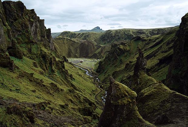 Горный кемпинг в каньонах Такгиль