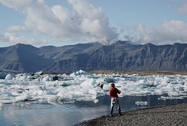 Ледниковое озеро Йокульсарлон, Исландия, Южный регион