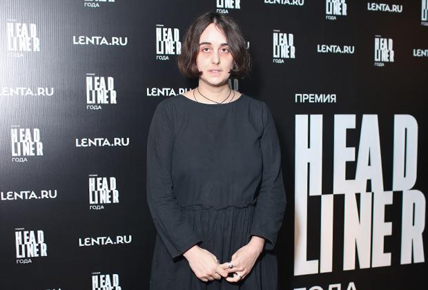 Лидия Мониава, главный победитель премии «Headliner года» в номинации «Общественная жизнь»
