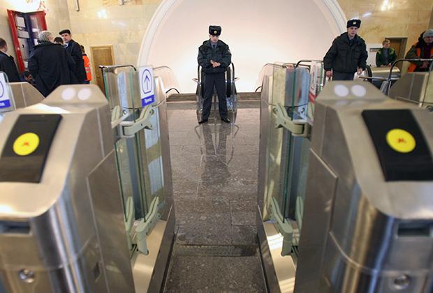 Вестибюль станции метро «Таганская» Московского метрополитена