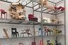 Здание Vitra Schaudepot снаружи напоминает безымянную краснокирпичную архитектуру европейских фабрик третьей четверти XIX — начала XX века, а изнутри — гигантский мебельный склад. Но на его полках — не коробки с новой мебелью, а архивные образцы бестселлеров, например, диван Marshmallow по дизайну Джорджа Нельсона, диван Lips, навеянный работами Сальвадора Дали, кресла, стулья и оттоманки по эскизам Чарлза и Рей Имзов и Вернера Пантона и множество других необычных и известных предметов.