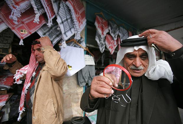 Саудовская куфия и икаль