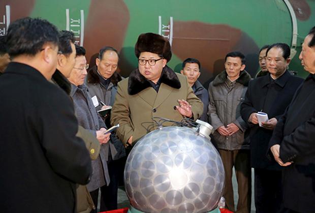 Лидер КНДР на встрече с учеными