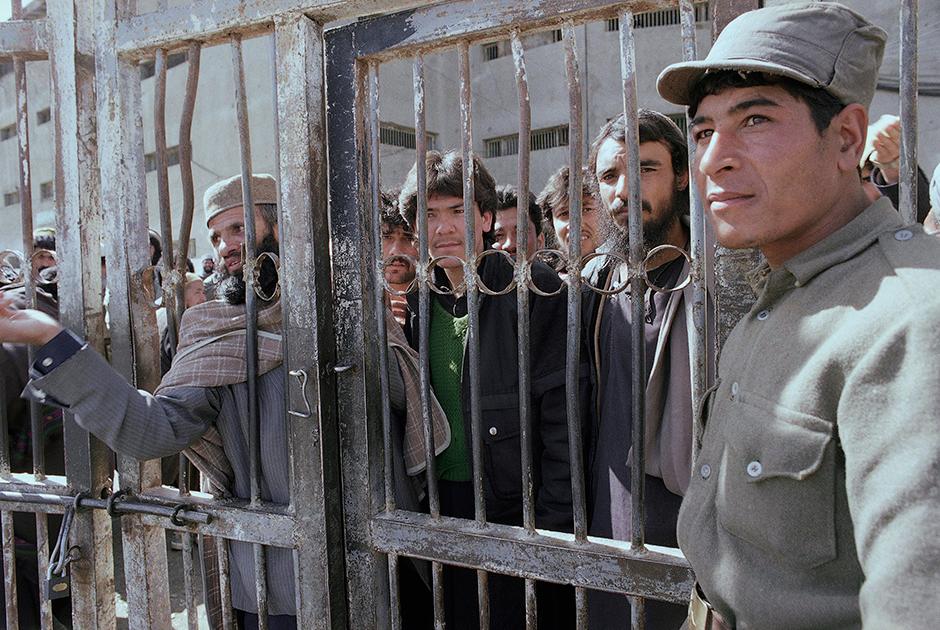 Центральная тюрьма Пули-Чархи в Кабуле