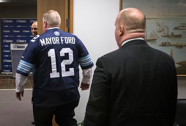 Роб Форд вел разгульную жизнь на посту мэра