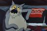 В советском мультфильме по мотивам украинской народной сказки «Жил-был пес» Джигарханян озвучил Волка. Именно его голосом сказаны такие знаменитые цитаты, как «Шо, опять?» и «Щас спою!».