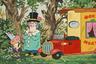В «Приключениях поросенка Фунтика» голосом Джигарханяна говорит дядюшка Фокус Мокус. Всего в его фильмографии около 30 анимационных работ, в том числе зарубежные. Например, в «Тачках» он озвучил бывшего гонщика Дока Хадсона.