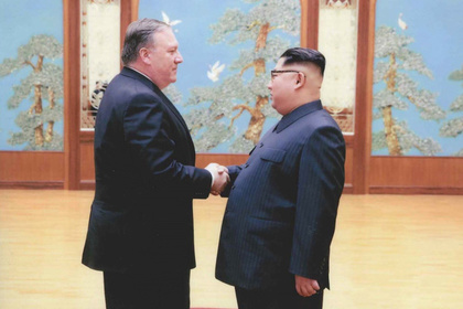 Майкл Помпео и Ким Чен Ын