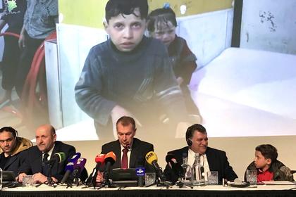 Россия обвинила США в бойкоте брифинга ОЗХО по «химатаке» в Сирии