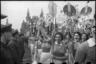 На Красной площади. Москва, 1 мая, 1940 год.