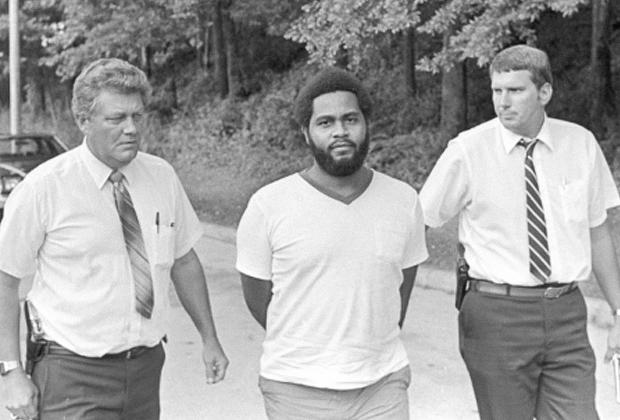 Арест Энтони Рэя Хинтона. 31 июля 1985 года