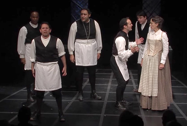 Театральная постановка «Ротшильд и сыновья»