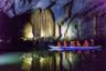 Наиболее известная достопримечательность в Пуэрто-Принсесе — самая длинная в мире подземная река. Здесь всегда толпы туристов, но это совершенно не портит впечатление от лодочной прогулки — это настоящий каменный дворец под землей.