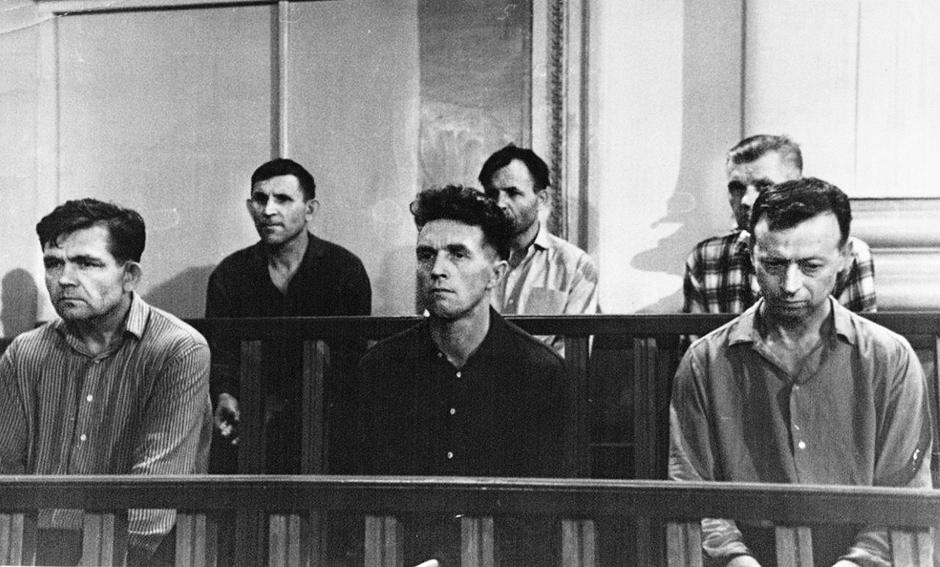 Суд над вахманами в Краснодаре в 1965 году