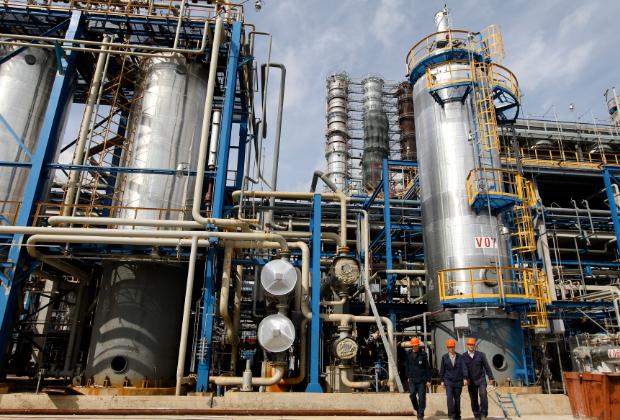 Нефтеперерабатывающий завод в Новополоцке