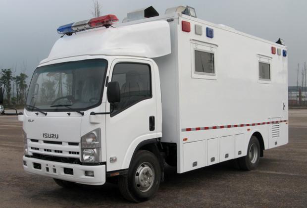 В Китае существуют специальные фургоны для казней