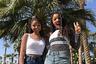 «Мы просто две дурочки из Атланты, которым нравится сочинять музыку», — говорит 19-летняя Хлои, впервые побывавшая с сестрой Халле на знаменитом фестивале Coachella. Пять лет назад Бейонсе заметила на YouTube кавер собственной песни, спетый девочками, которым тогда было 13 и 14 лет. Певица взяла их под свое крыло и помогла записать альбом. Теперь они приехали на Coachella выступать.