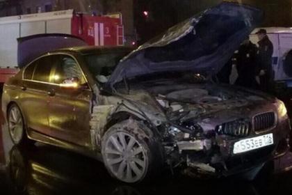 Лихач на BMW протаранил патрульную машину и убил полицейского