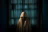 Несколько снимков под названием «Боко Харам привязал к ним бомбы смертников» фотохудожника Адама Фергюсона заняла второе место в номинации «Серия». Все девушки, изображенные на портретах, спаслись из плена радикальной исламистской организации «Боко Харам» — их планировали сделать террористками-смертницами.   <br> <br>  Героиня этой фотографии— 14-летняя Айша— сумела бежать, когда ее уже обвязали взрывчаткой и отправили «исполнять свой долг».