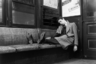 1939, Нью-Йорк. Спящий в метро.