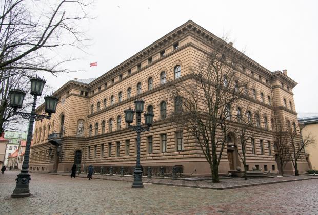 Здание Сейма Латвии в Риге