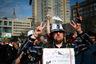 Митинг на проспекте Сахарова должен был начаться в 14:00. Впрочем, его участники стали собираться на месте проведения заранее.