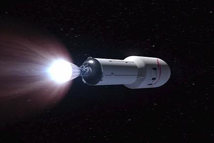 Вторая ступень и головная часть Falcon 9