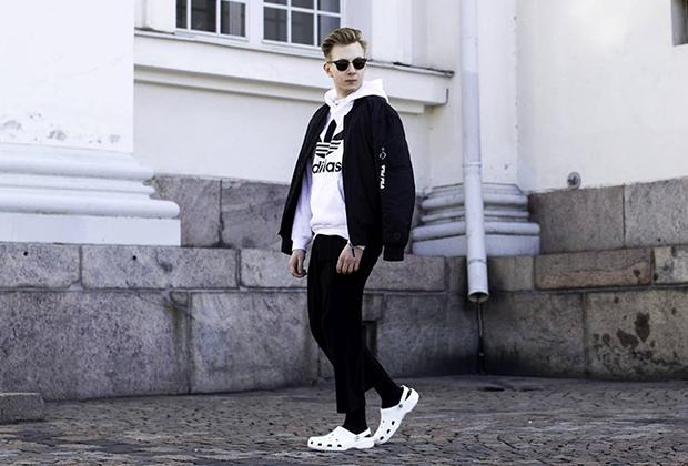 Фото из российского аккаунта компании Crocs в Instagram