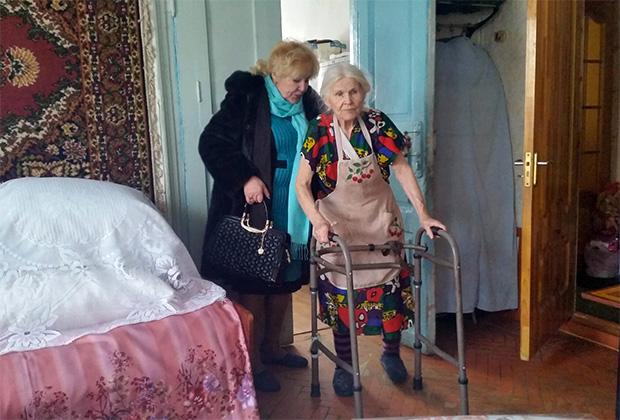 Тамара Шимко и Раиса Ивановна Фоменко