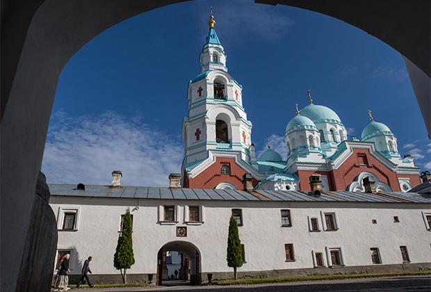 Собор Преображения Господня Валаамского Спасо-Преображенского монастыря