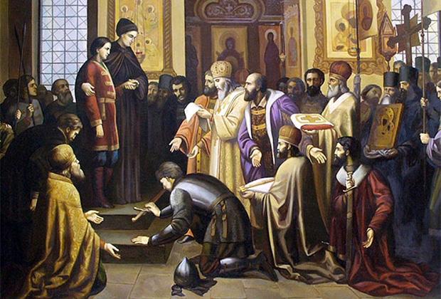 Петр Шамшин «Призвание Михаила Федоровича на царство»