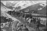 На фронтах войны. Доставка оружия бойцам Красной армии. Северный Кавказ, 1944.