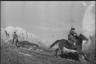 Партизаны ведут бой в горах. Северная Осетия, 1942.